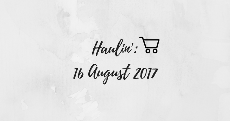 Weekly Grocery Haul: 16 August 2017
