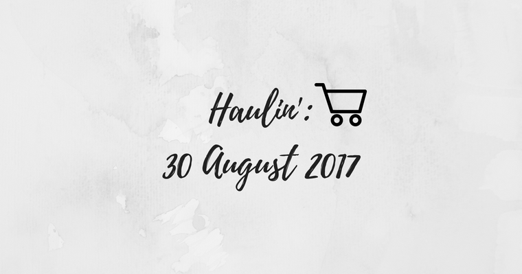 Weekly Grocery Haul: 30 August 2017
