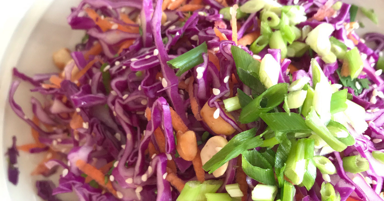 The Best Ever Asian Slaw